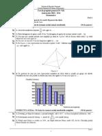 Teste Pregatire ENVIII 2014 Matematica 01