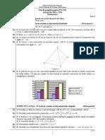 Teste Pregatire ENVIII 2014 Matematica 02