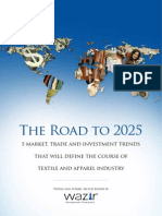 Global Textile and Apparel Sector Trend  Report - The Road to 2025