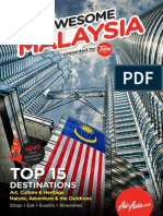 AirAsia Awesome Malaysia Travel Guide-English
