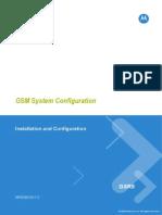 Motorola GSM SYSTEM Configuration