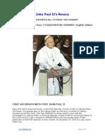 John Paul II's Rosary