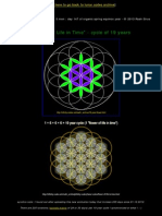The Flower of Life in Time by Raah Sirus