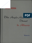 Enver Hoxha. The Anglo-American Threat to Albania