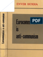 Enver Hoxha. Eurocommunism is Anti-communism