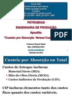 Apostila Custeio_Petrobras ENG PROD_SET12