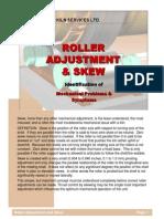 Roller Adjustment and Skew