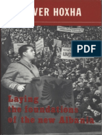 Enver Hoxha. Laying the Foundations of the New Albania