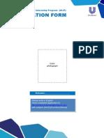 Application Form Unilever Internship (ULIP) 2013_tcm108-349706