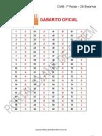 433 1 Simulado Oab 1f Xii Exame Gabarito Ok