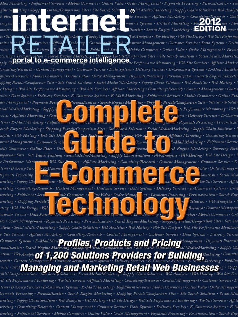 Complete guide to e commerce technology e commerce online shopping fandeluxe Gallery