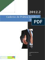 Caderno de Prática Jurídica I (PEÇAS)