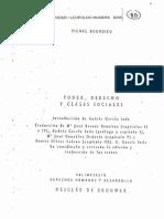 Pierre Bourdieu. Sobre el poder simbólico.