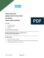 ASE10159 JET Practice Paper.pdf Level 4