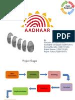 Project Mgnt. Aadhar card - UIDAI