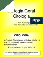 Aula 1- Biologia Geral- Citologia