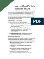 77182237 Sistema de Clasificacion de La Central Electrica de KKS