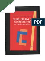 Cartea Despre Curiculum Si Competente