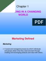 Marketing Ch - 1