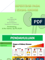 Terapi Hipertensi Pada Gagal Ginjal Kronis