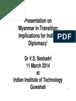 Myanmar Transition Presentation