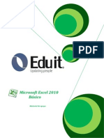 Manual Excel 2010 - Eduit