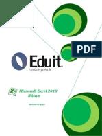Manual Excel 2010 - Eduit