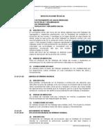 Especificaciones Tecnicas Planta de Tratamiento de Aguas Residuales