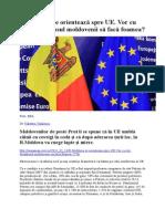 R.Moldova se orientează spre UE. Vor cu tot dinadinsul moldovenii să facă foamea?