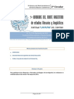 V Jornadas de Estudios Literarios y Lingüísticos -2a circular (1)