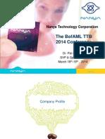 Nanya Presentation Material 20140318 ENG