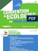 Convention écologie chiffres clefs