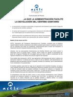 20140320_astic Espera Que La Administracion Facilite La Devolucion Del Centimo Sanitario