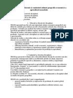 1. Introducerea. Obiectul Si Continutul Stiintei Geografie Economica a Agriculturii Mondiale GEAM