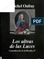 Onfray Michel - Contrahistoria de La Filosofia IV - Los Ultras de Las Luces