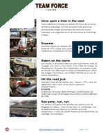 Team Force - Dossier de présentation 2014 du team moto classics