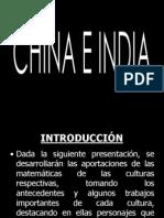Matematicas China e India
