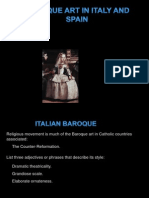 Baroque Italy and Spain