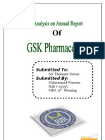 Financial Report on GSK 2007 GlaxoSmithKline
