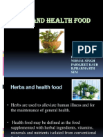 Herbs and Health Foods