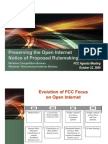 Open Internet Presentation - Commission Meeting Slides (10-22-09)