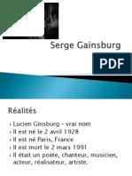 serge gainsburg