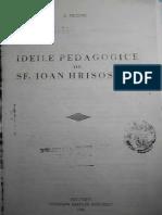 Pr. Dumitru Fecioru - Ideile pedagogice ale Sf. Ioan Hrisostom