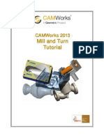 Camworks Tutorial Mill and Turn | Numerical Control | Computing