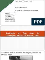 Accidente en San Juan de Ixhuatepec, México
