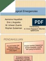 JOURNAL Oncological Emergencies-Dr. Enos SpB(K)Onk
