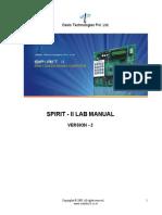 Spirit-II Lab Manual