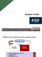 RedSeer Profile