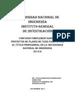 IGI Base y Reglamentos Del Concurso Tesis_2013-Complementario