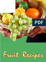 Fruits Recipes